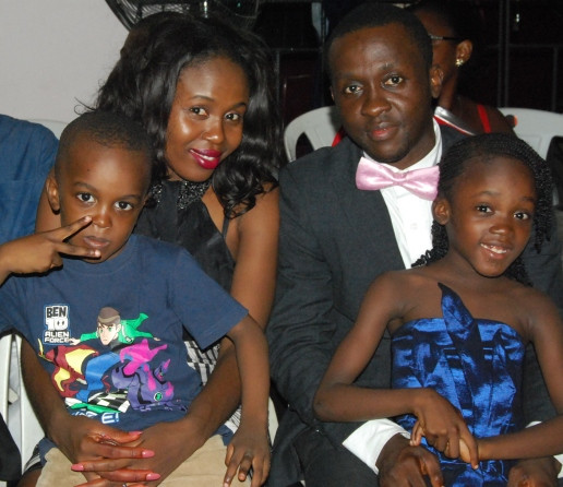 PHOTO: Sweetchy! It's our Marriage anniversary! CEO 247ng.com [Chinedu & Chidinma Ahaneku Obiano]