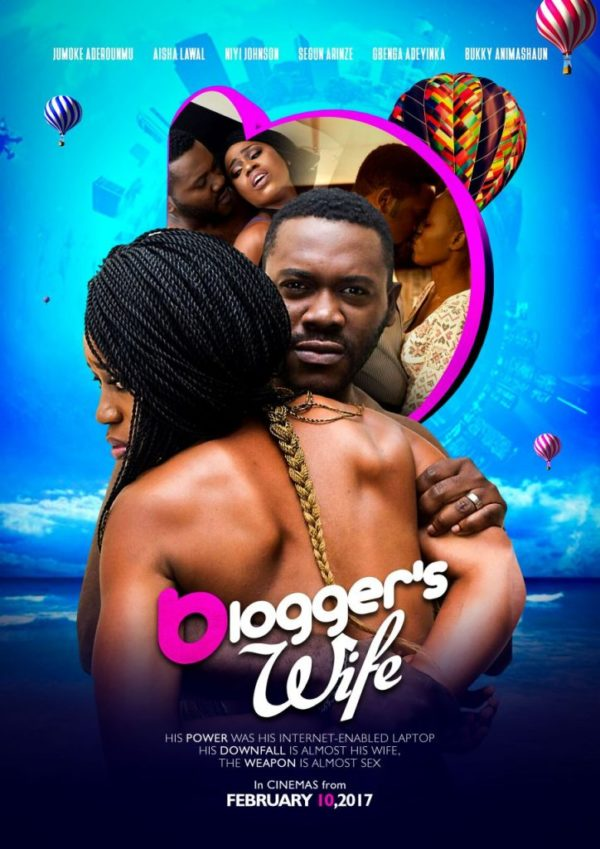 "247NGTV: WATCH the Official Trailer for ""The Blogger's Wife"" starring Deyemi Okanlawon, Ijeoma Agu & More"