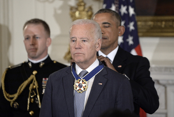 247NGTV:President Obama Decorates Teary-eyed VP Biden with Presidential Medal of Freedom