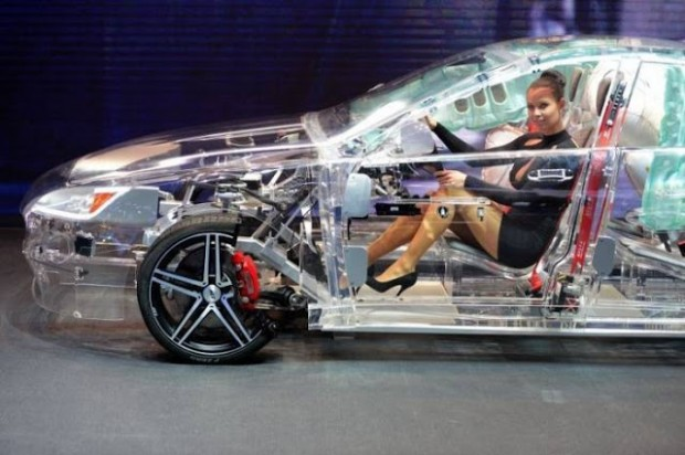 (Photos) Germany Launches Transparent Car
