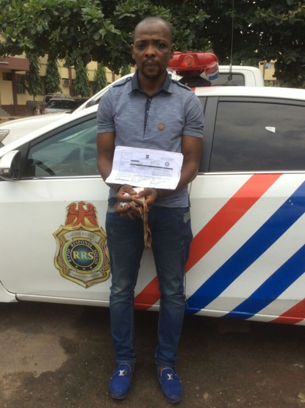 Police Arrests Accounting Graduate for Impersonating Lagos State Land Use Officials in Lekki