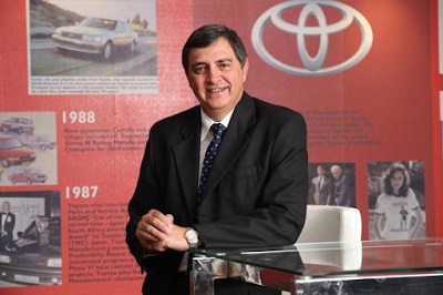 BREAKING NEWS: South African man becomes first African to land a top job at Toyota international