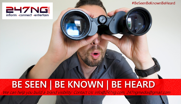BE SEEN | BE KNOWN | BE HEARD with 247ng Media.