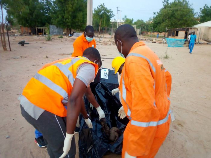 PHOTOS: Suicide Bombers Killed In Attempt To Attack UNIMAID's Female Hostel Maiduguri