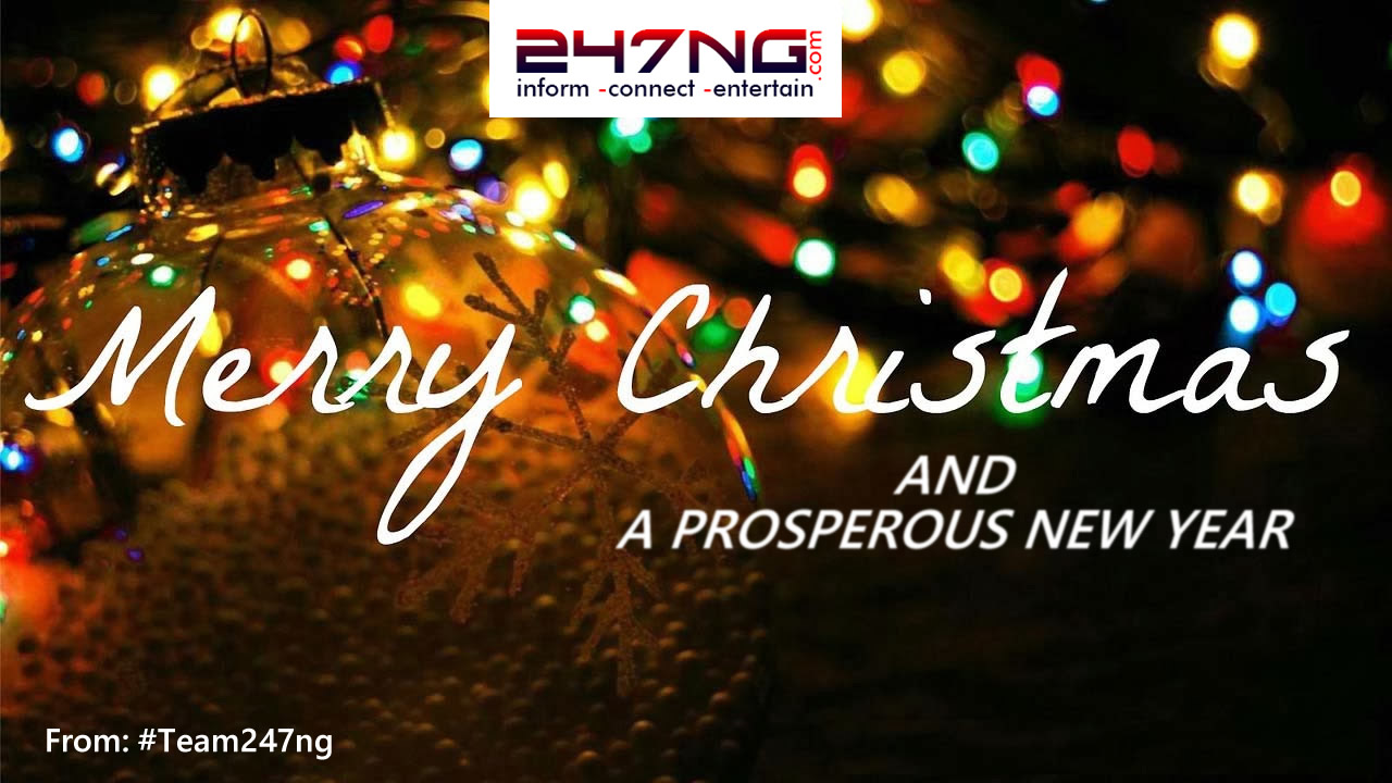 Merry Christmas Kiss from all of us at #Team247ng. Have a Fab Christmas!