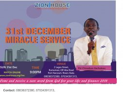 zion house 31st dec