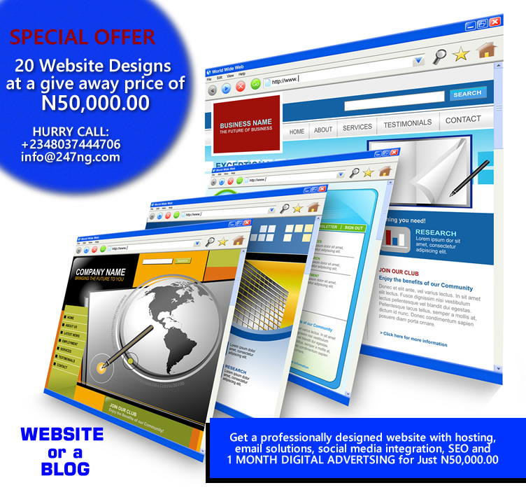 We offer Exceptional Web Design! Take your Business to the Next Level: www.yourcompany.com