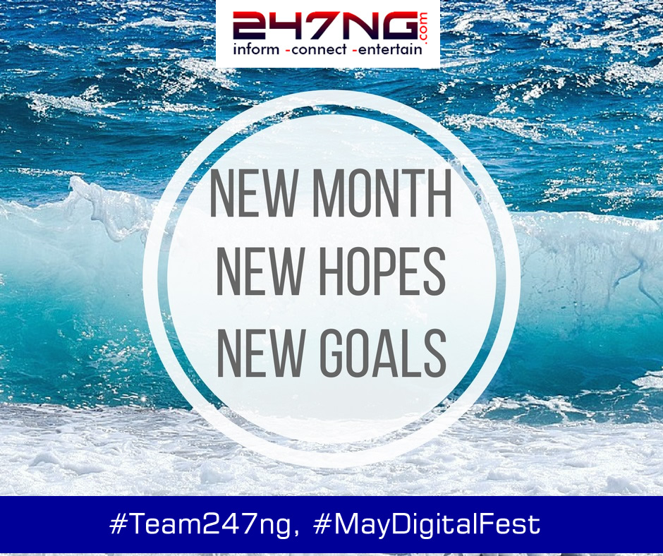 Happy New Month. It's May [MayDigitalfest]