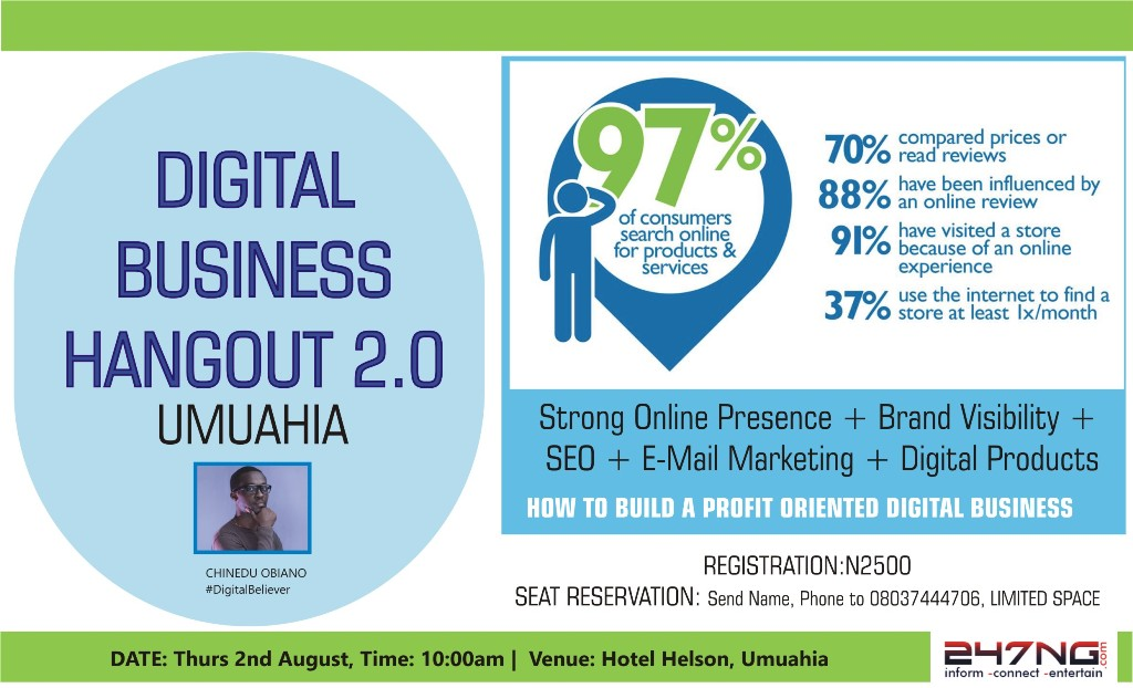 DIGITAL BUSINESS HANGOUT 2.0 UMUAHIA