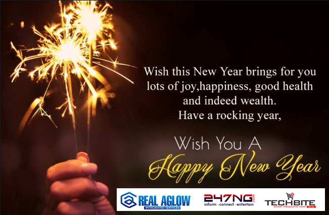 NEW YEAR GREETINGS FROM TEAM TEAM247NG, TECHBITE FAMILY AND AGLOWNG.